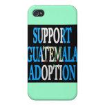 adopción de Guatemala de la ayuda iPhone 4 Carcasa