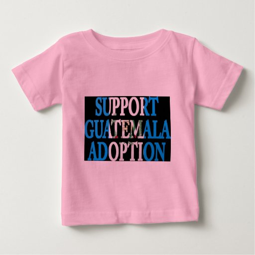 adopción de Guatemala de la ayuda Playera De Bebé