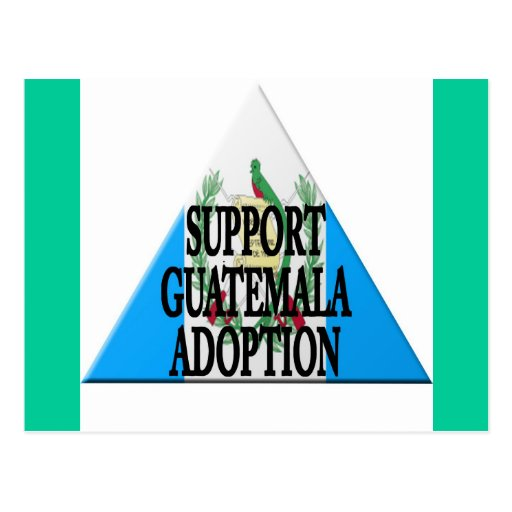 adopción de Guatemala de la ayuda Postales