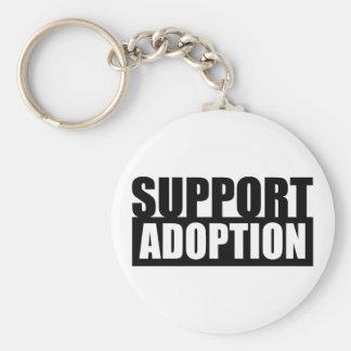 Adopción de la ayuda llavero