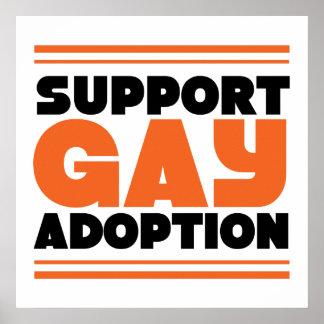 Adopción del gay de la ayuda poster
