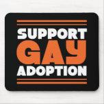 Adopción del gay de la ayuda tapete de ratones