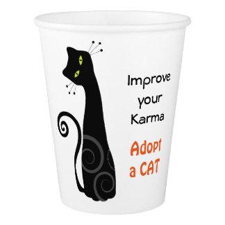 Adopción del mascota del gato