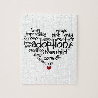 Adopción Puzzle Con Fotos