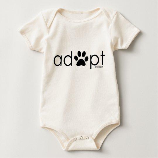 Adopt #2 baby bodysuit
