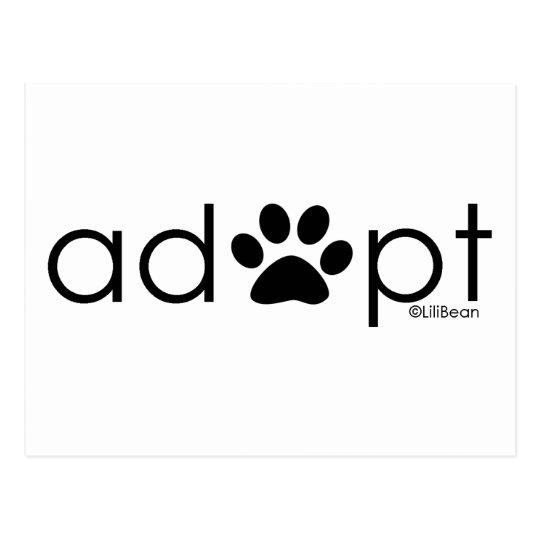 Adopt #2 postcard