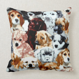 Adopt A Animal Shelter Dog Throw Pillow