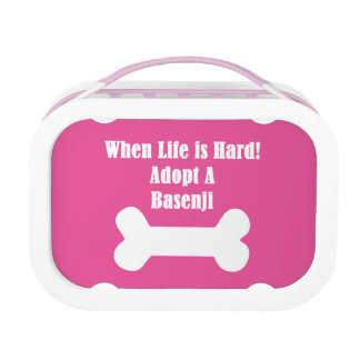 Adopt A Basenji Lunch Box