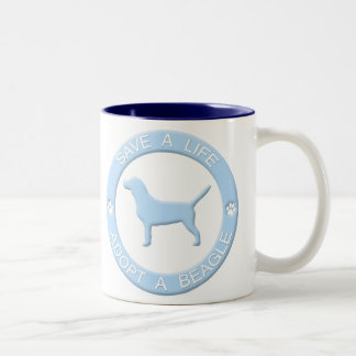 Adopt a Beagle Mug