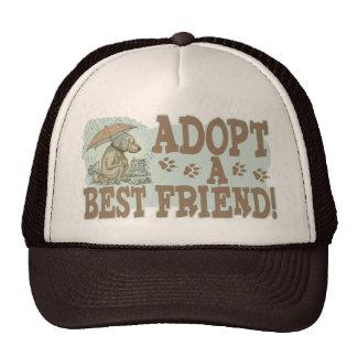 Adopt a Best Friend by Mudge Studios Trucker Hats