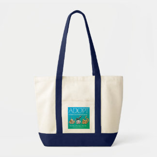 Adopt A Best Furry Friend Forever Tote Bags