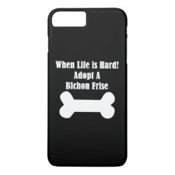 Case-Mate Tough iPhone 7 Plus Case with Bichon Frise Phone Cases design