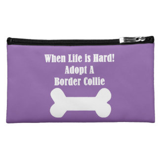 Adopt A Border Collie Cosmetic Bag