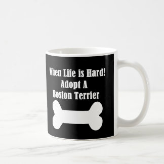 Adopt A Boston Terrier Coffee Mug