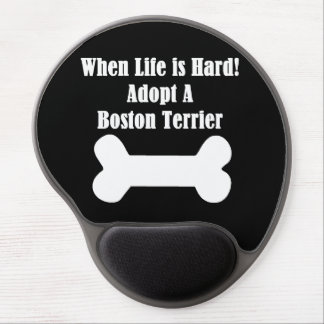 Adopt A Boston Terrier Gel Mouse Pad