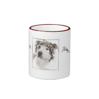 Adopt-a-bull  coffee cup ringer coffee mug