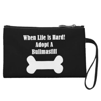 Adopt A Bullmastiff Wristlet
