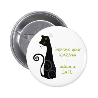 Adopt a Cat Button