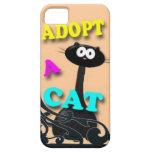 Adopt a Cat iPhone 5 Cases