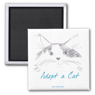 Adopt a Cat Magnets