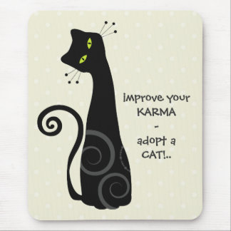 Adopt a Cat Mouse Pad