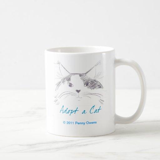 Adopt a Cat Mug