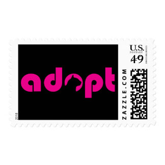 ADOPT A CAT. POSTAGE