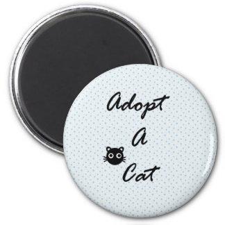 Adopt A Cat Refrigerator Magnet
