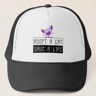 Adopt A Cat Save A Life Hat