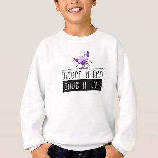 Adopt A Cat Save A Life Sweatshirt