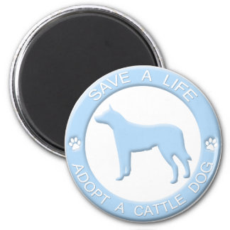 Adopt a Cattle Dog Magnet