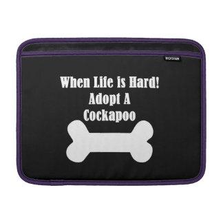 Adopt A Cockapoo MacBook Sleeves