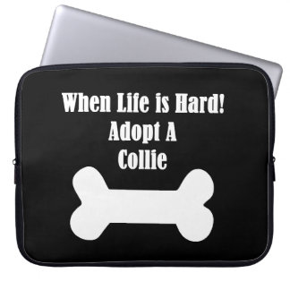 Adopt A Collie Computer Sleeves