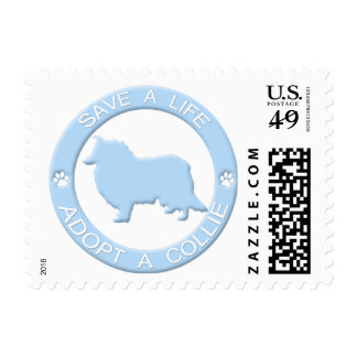 Adopt a Collie Postage Stamps