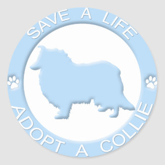 Adopt a Collie Stickers