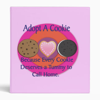 Adopt a Cookie Avery Binder