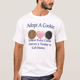 Adopt A Cookie Men's T-Shirt