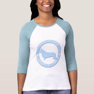 Adopt a Corgi T-Shirt (Cardigan)