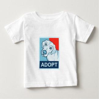 Adopt a Dog baby shirt