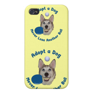 Adopt a Dog Ping Pong iPhone 4 Covers