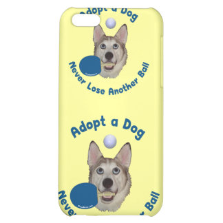 Adopt a Dog Ping Pong iPhone 5C Covers