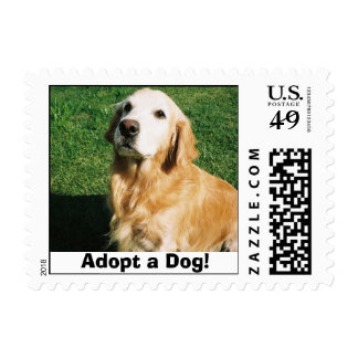 Adopt a Dog! Stamps