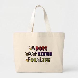 Adopt a Friend For Life Bag