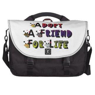 Adopt a Friend For Life Commuter Bag