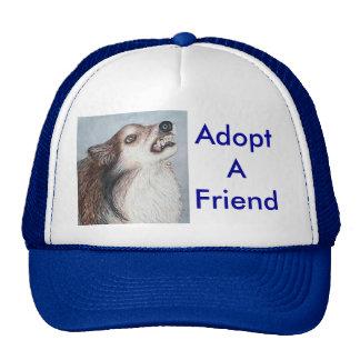Adopt A Friend Hat
