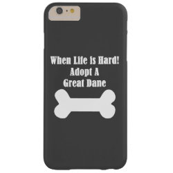 Case-Mate Barely There iPhone 6 Plus Case with Great Dane Phone Cases design