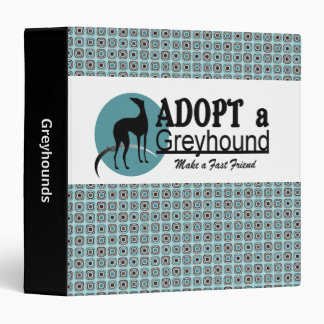 Adopt a Greyhound Binder