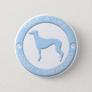Adopt a Greyhound Button