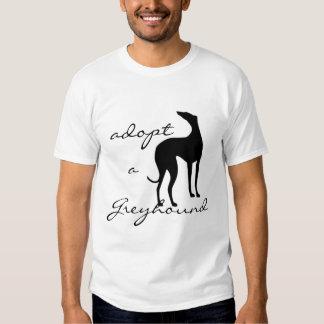Adopt a Greyhound Dog T-Shirt