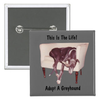 Adopt A Greyhound This Is The Life Button